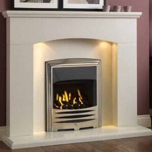Cartmel Polar White mantel