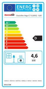 Vega-C7-Gas-Energy-Label